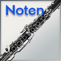 Noten für Klarinette