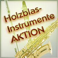 Holzblasinstrumente-Aktionen