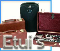 Etuis für Holzblasinstrumente