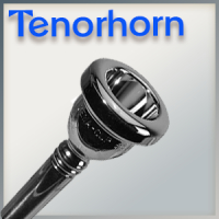 Mouthpiece for Tenorhorn