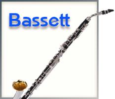 Bassethorn-Klarinetten