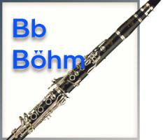 B-Klarinette - Böhm System