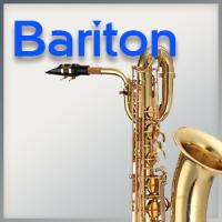 Mundstück für Es-Baritonsax.