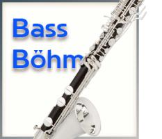 Bass-Klarinette Böhm System