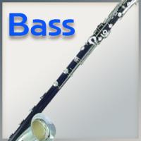 Blätter für Bass-Klarinette