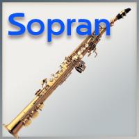 Polstersatz Sopran-Saxophon