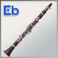 Polstersatz für Es-Klarinette