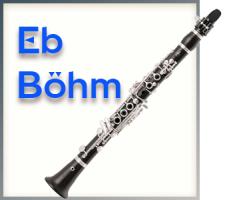 Es-Klarinette - Böhm System