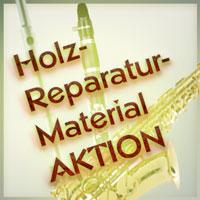 Reparaturmaterial Holzblasinstrumente-Aktionenen