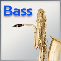 Mundstück für Bass-Saxophon