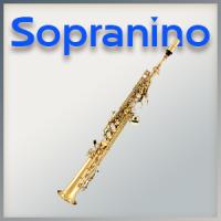 Mundstück für Sopranino-Saxophon