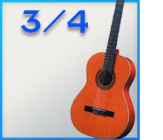 3/4 Konzertgitarren