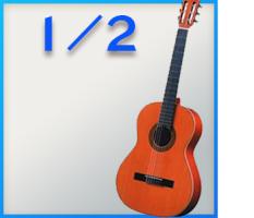 1/2 Konzertgitarren