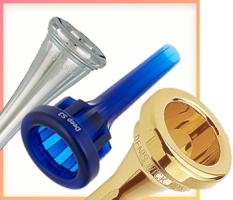 Blechblasinstrumenten-Mundstücke