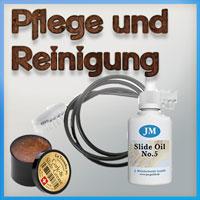 Pflegemittel für Blechblasi.