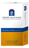 PL class® Deutscher Schnitt Standard - (1) Peter Leuthner B-Klarinettenblatt