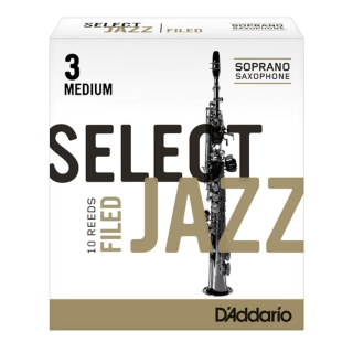 RICO Select JAZZ Filed Sopransaxophon