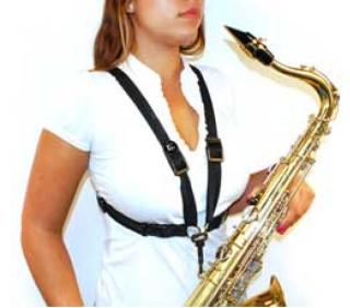 BG Cross Strap Saxophone Harness S41SH Ladies