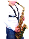 BG cross strap saxophone harness S42SH children