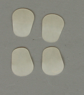 Kölbl Mundstück-Biss-Blättchen transparent 0.4mm (4 Stück)