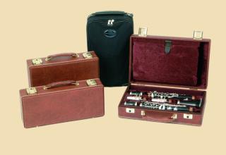 O. Hammerschmidt DeLuxe Eb clarinet case 117e
