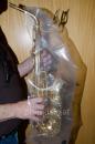 Regenschutz für Es-Alto-Saxophon (Regenhülle)