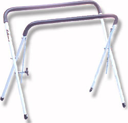 Lefima 131w Marching Bass drum stand white