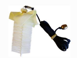 Posaunen-Zugreiniger mit Kordel und Gewicht