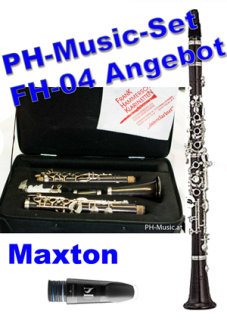 "Frank Hammerschmidt SET 1 Bb-Clarinet ""interclarinet"" FH04 + Maxton"