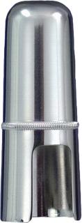 Zinner Mundstück-Kapsel für Es-Bariton-Sax. vernickelt weit