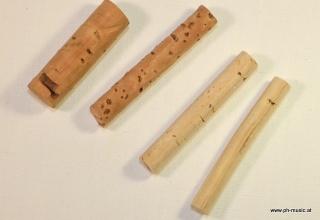 Cork rod 40 mm long for horseshoe stops D = 8 mm (4)