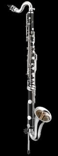 JUPITER JBC1000N Bass-Klarinette in Bb bis Tief Es (vernickelt)