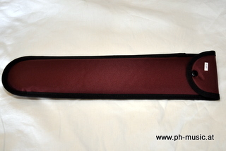 Recorder bag soprano wine red incl. Cleaning brush