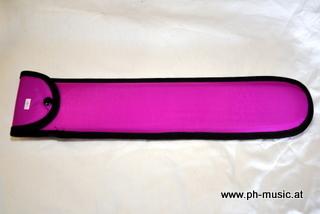 Blockflötentasche Sopran pink inkl. Putzpinsel