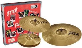 Paiste cymbal set PST 3, 3-part universal