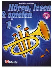 DeHaske - Hören, Lesen & Spielen 1 - Trompete in B mit CD