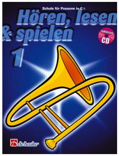 DeHaske - Hören, Lesen & Spielen 1 - Posaune in C (BC) mit CD