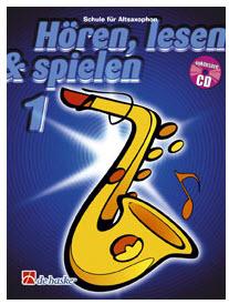 DeHaske - Hören, Lesen & Spielen 1 - Altsaxophon in Es mit CD