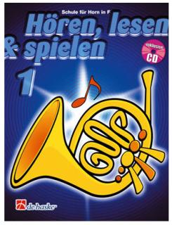 DeHaske - Hören, Lesen & Spielen 1 - Horn in F mit CD