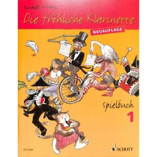 Rudolf Mauz - Spielbuch Band 1 zur Mauz-Klarinettenschule