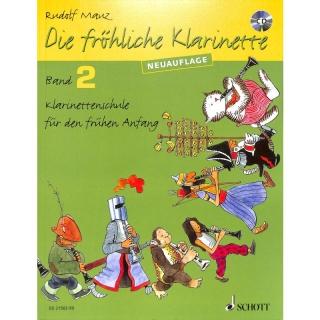 Rudolf Mauz - Die fröhliche Klarinette 2 mit CD