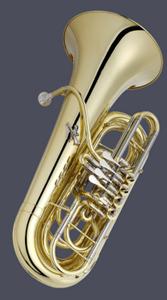 JUPITER JTU1140 Bb tuba, lacquered, 4 rotary valves
