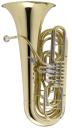 JUPITER JTU1140 Bb Tuba, lackiert, 4 Drehventile