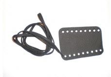 Handschutz für Konzert-Trompete Leder mit Schnürverschluss