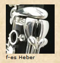 O. Hammerschmidt B-Klarinette OH-320 Orchester Modell Wien