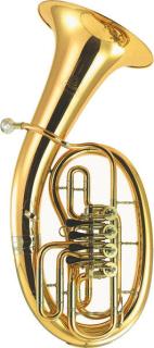 B&S Bariton BS3046G-1-0 Goldmessing 4 Ventile