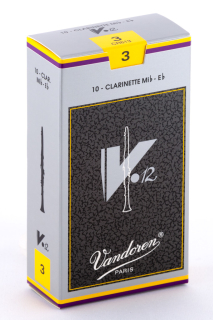 Vandoren V12 Es-Klarinette Blatt Böhm (10)