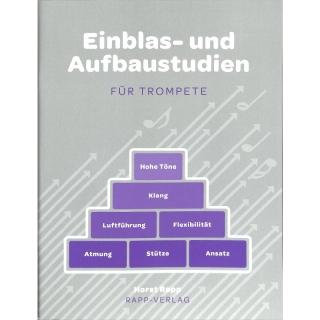 Horst Rapp - Einblas- und Aufbaustudien für Trompete