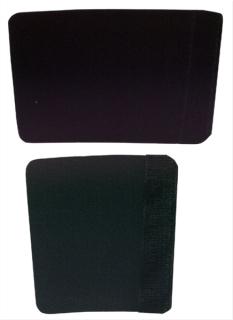 Handschutz für Konzert-Trompete Spezialvelours  schwarz mit Klettverschluss