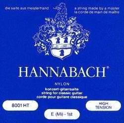 Einzelsaite Hannabach Klassikgitarre - E1 Serie 800 High Tension